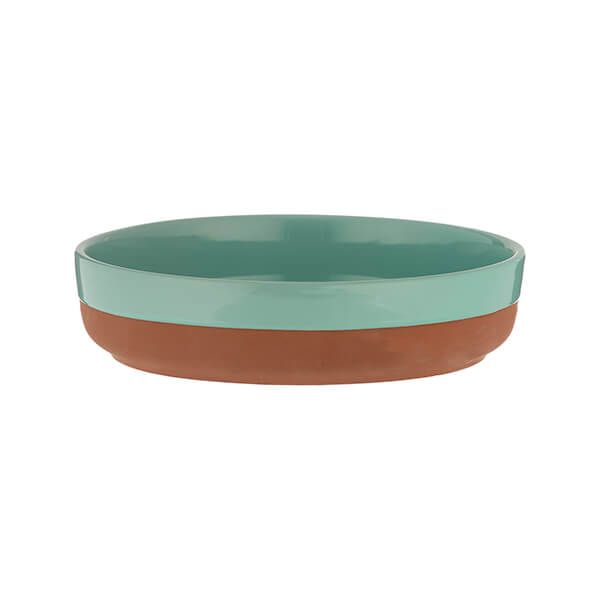 Typhoon World Foods 21cm Tapas Dish Aqua