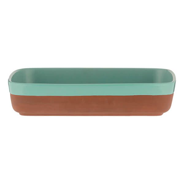 Typhoon World Foods 29 x 19cm Rectangular Dish Aqua