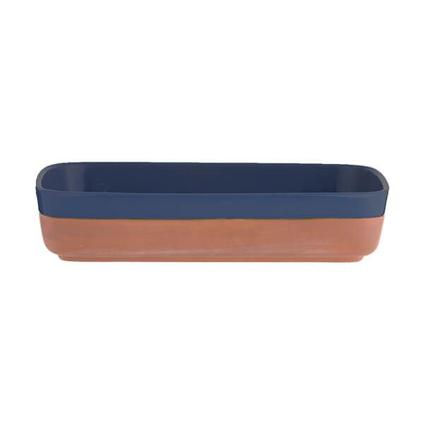 Typhoon World Foods 25 x 17.5cm Rectangular Dish Navy