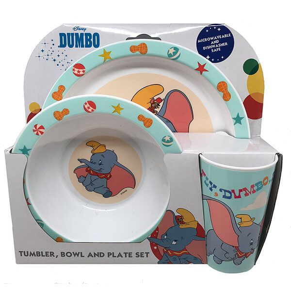 Disney Dumbo 3 Piece Tableware Set