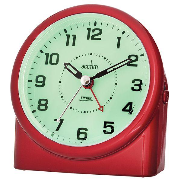 Acctim Central Alarm Clock Red