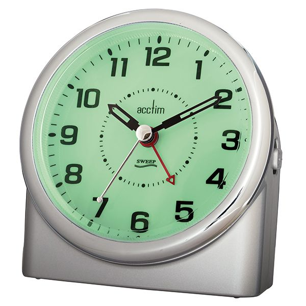 Acctim Central Alarm Clock Silver