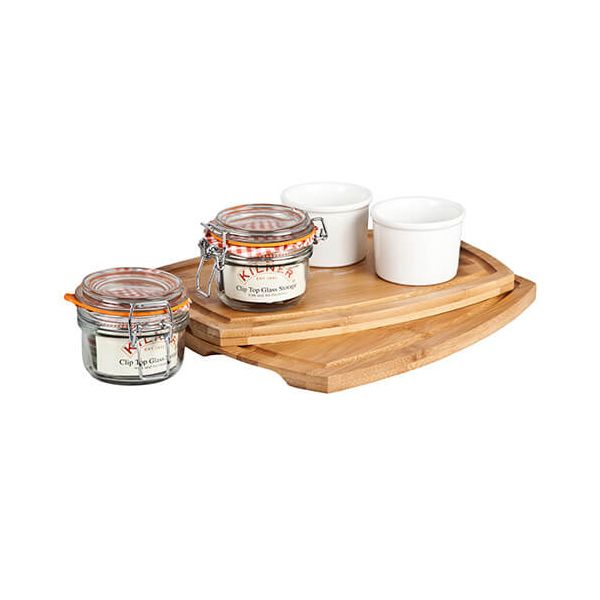 James Martin Denby Gastro Two 3 Piece Serving Kits (Pate)
