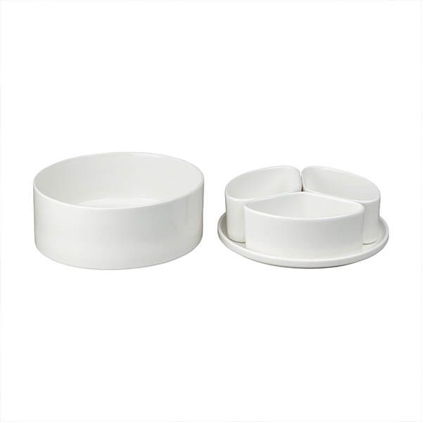 James Martin Denby 5 Piece Serving & Dip Bowl Set