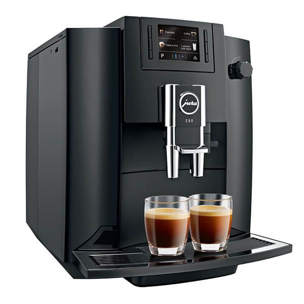 Jura Impressa E60 Bean-to-Cup Coffee Machine Piano Black
