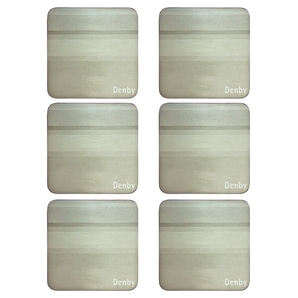 Denby Colours Natural 6 Piece Coasters