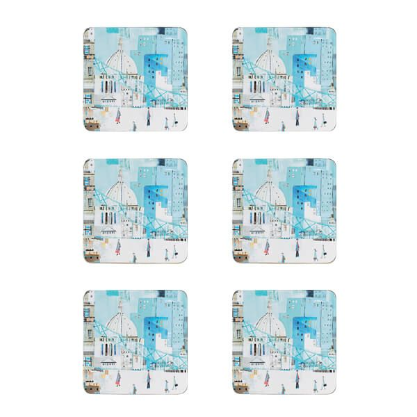 Denby Set Of 6 London Scene Coasters