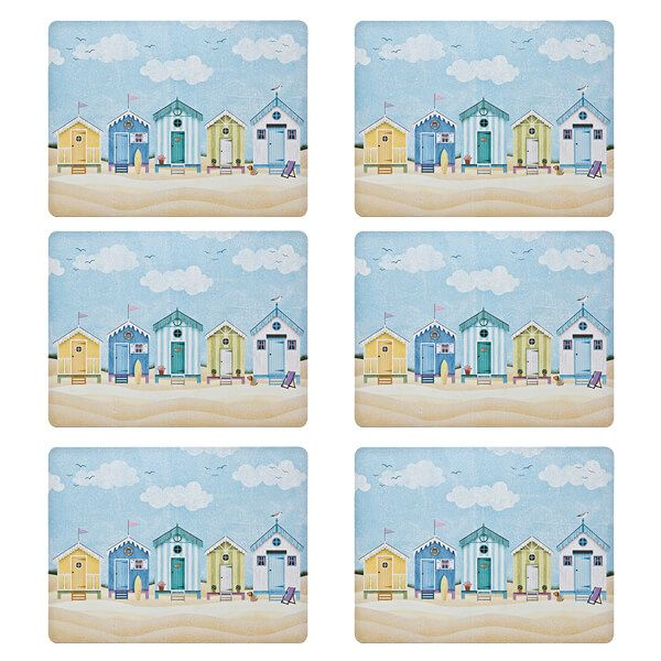 Denby Set Of 6 Seaside Placemats