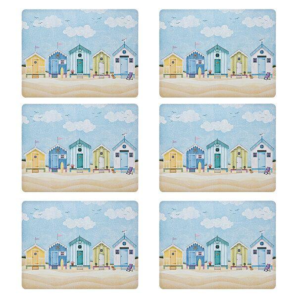 Denby Set Of 6 Seaside Placemats