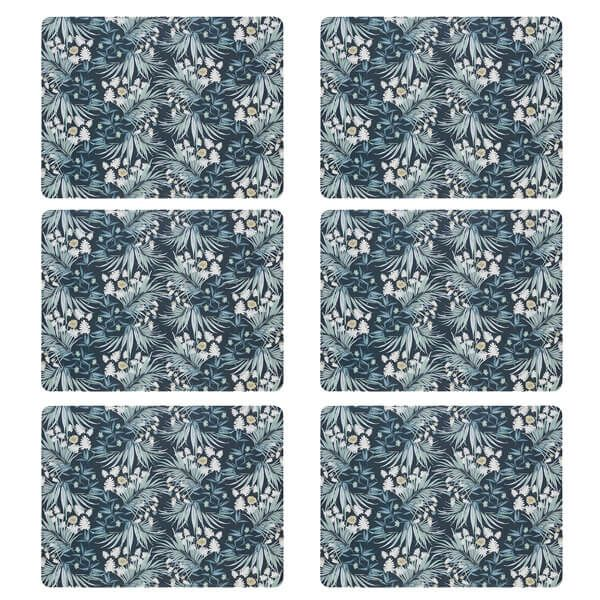 Denby Set Of 6 Ophelia Placemats