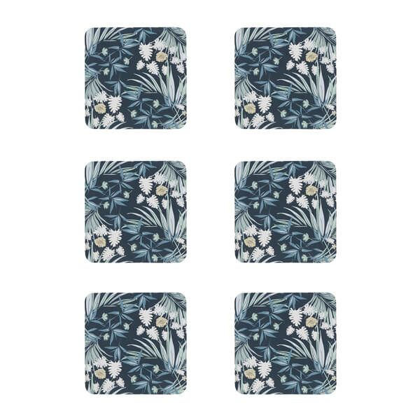 Denby Set Of 6 Ophelia Coasters