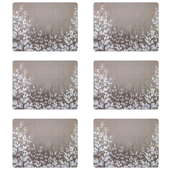 Denby Colours Natural Foliage Placemats Set Of 6