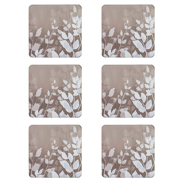 Denby Colours Natural Foliage Coasters Set Of 6