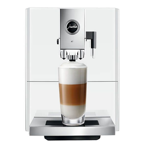 Jura A7 Piano White Automatic Coffee Machine