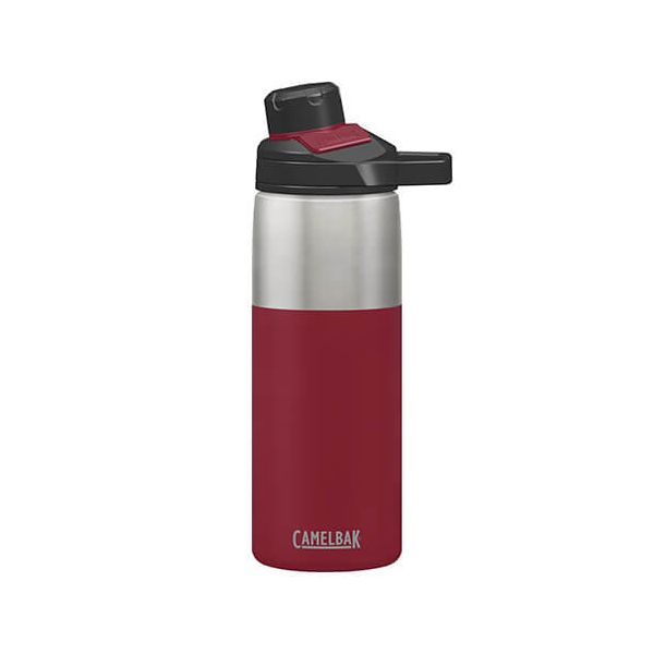 CamelBak 600ml Chute Mag Cardinal Red Vacuum Insulated Water Bottle