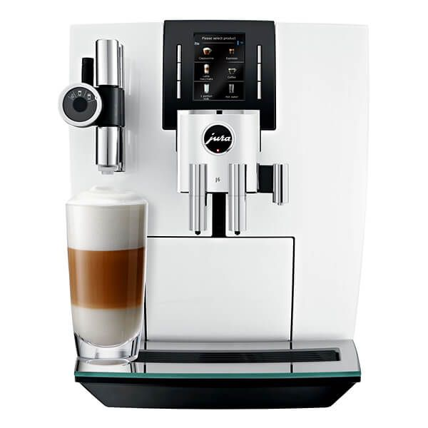 Jura J6 Piano White Automatic Coffee Machine