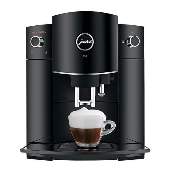 Jura D60 Piano Black Automatic Coffee Machine