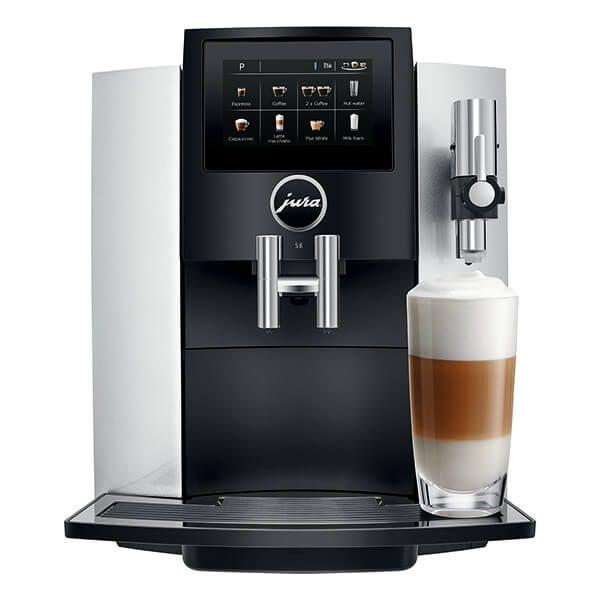 Jura S8 Moonlight Silver Automatic Coffee Machine