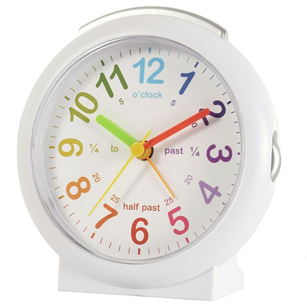 Acctim LuLu 2 Alarm Clock White