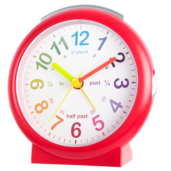 Acctim LuLu 2 Alarm Clock Red