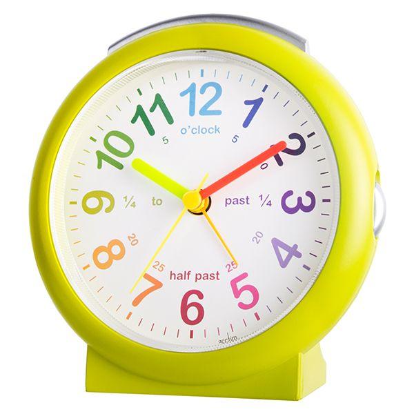 Acctim LuLu 2 Alarm Clock Green
