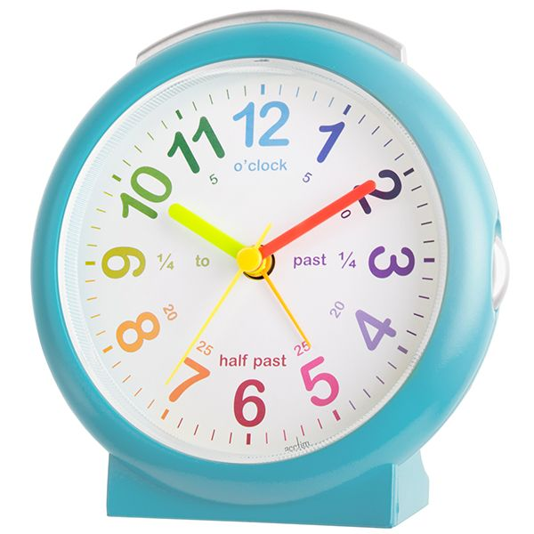 Acctim LuLu 2 Alarm Clock Blue