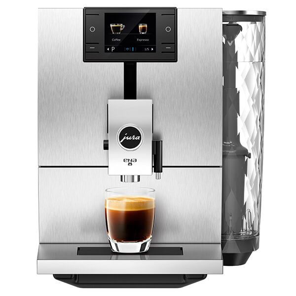 Jura ENA 8 Signature Massive Aluminium Automatic Coffee Machine