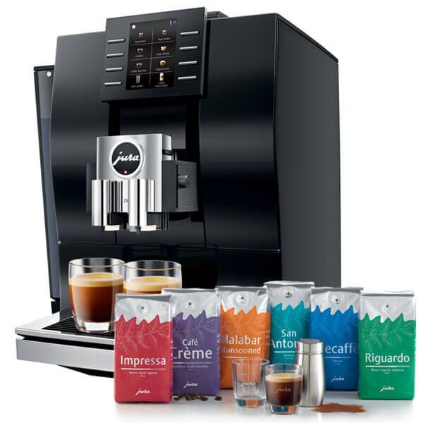 Jura Z6 Diamond Black Automatic Coffee Machine with FREE Gift
