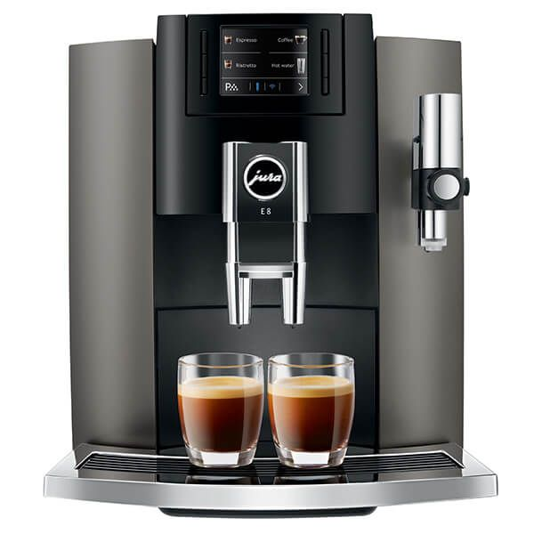 Jura E8 Inox Automatic Coffee Machine