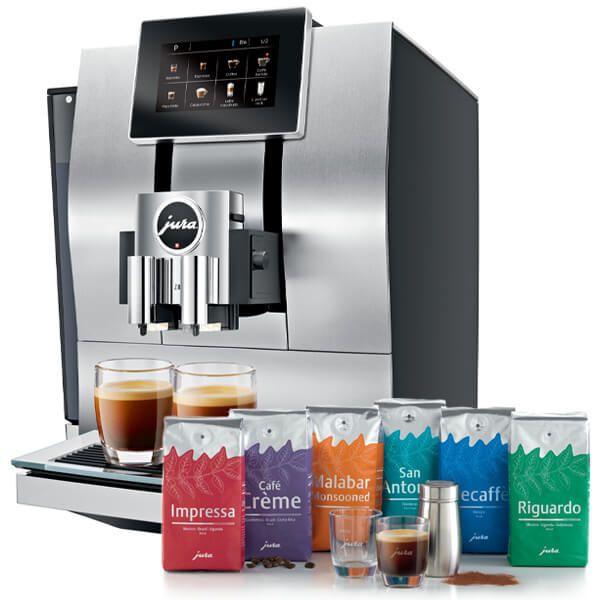 Jura Z8 Aluminium Automatic Coffee Machine with FREE Gift