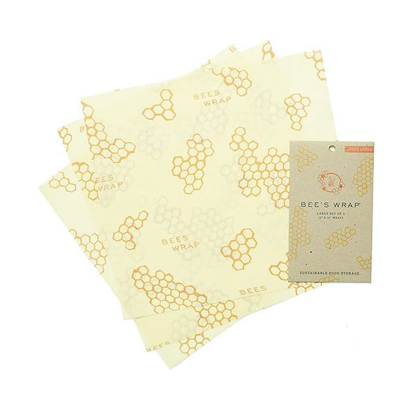 Bee's Wrap Set Of 3 Large Wraps 33 x 35cm