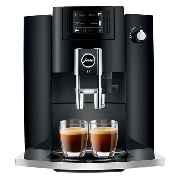 Jura E6 Piano Black Coffee Machine