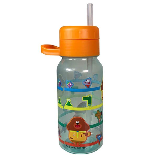 CBeebies Hey Duggee 400ml Twist Straw Bottle