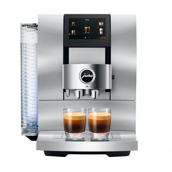 Jura Z10 White Aluminium Coffee Machine