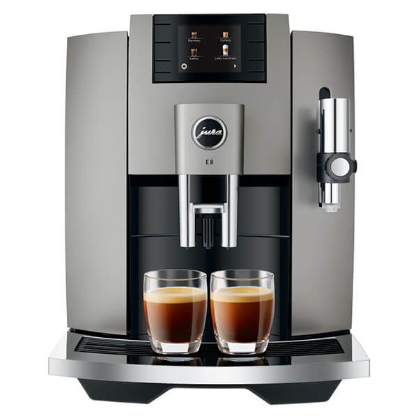 Jura E8 Dark Inox Coffee Machine