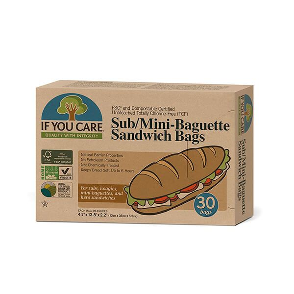 If You Care FSC Certified Sub Mini Baguette Bags