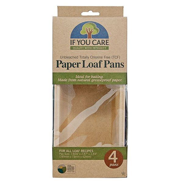If You Care Unbleached Paper Loaf Pans