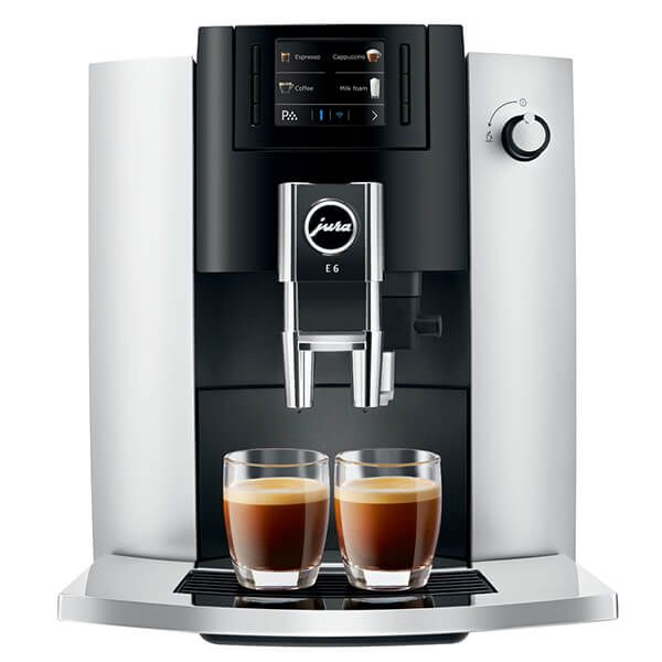 Jura E6 Platinum Coffee Machine