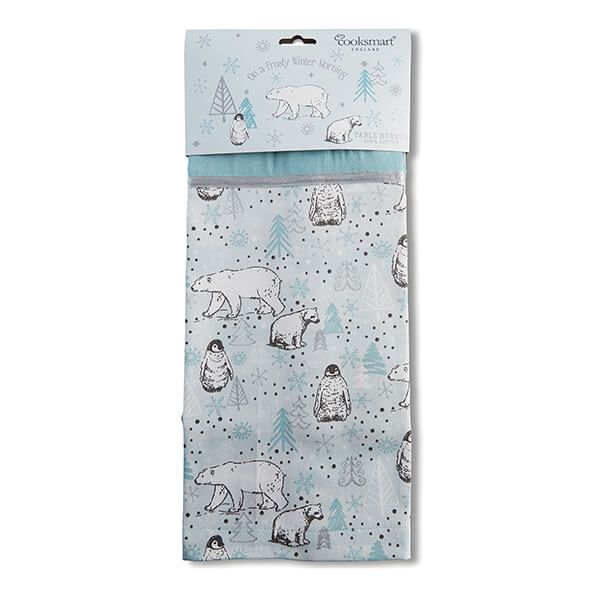 Cooksmart Frosty Morning Table Runner