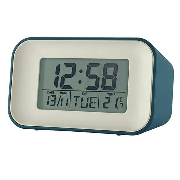 Acctim Alta Alarm Clock Storm Blue