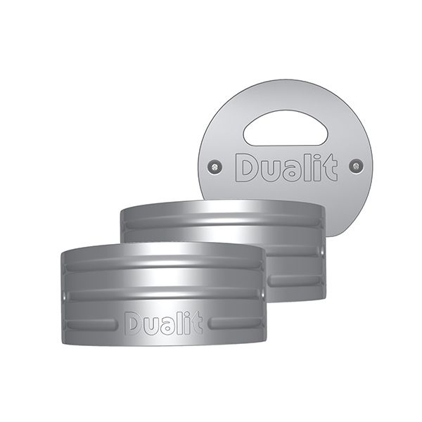 Dualit Architect Kettle Metallic Silver Panel Pack