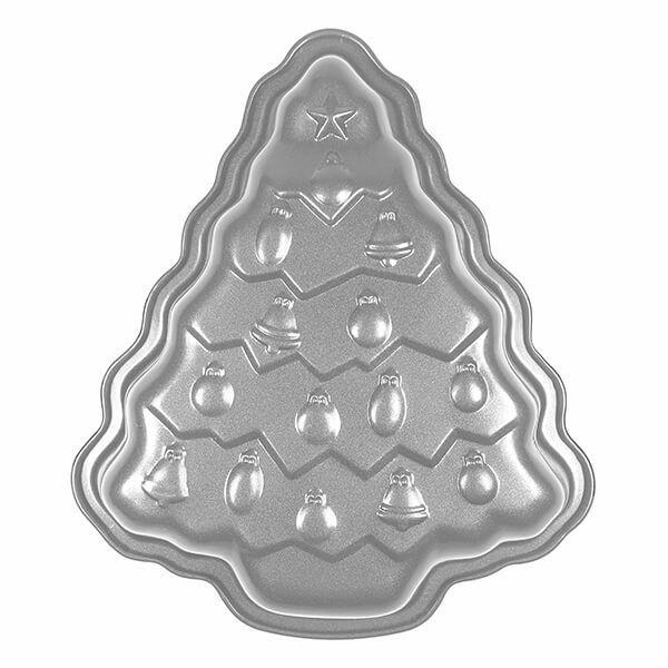 Dexam Yuletide 700ml Non-Stick Christmas Tree Cake Tin
