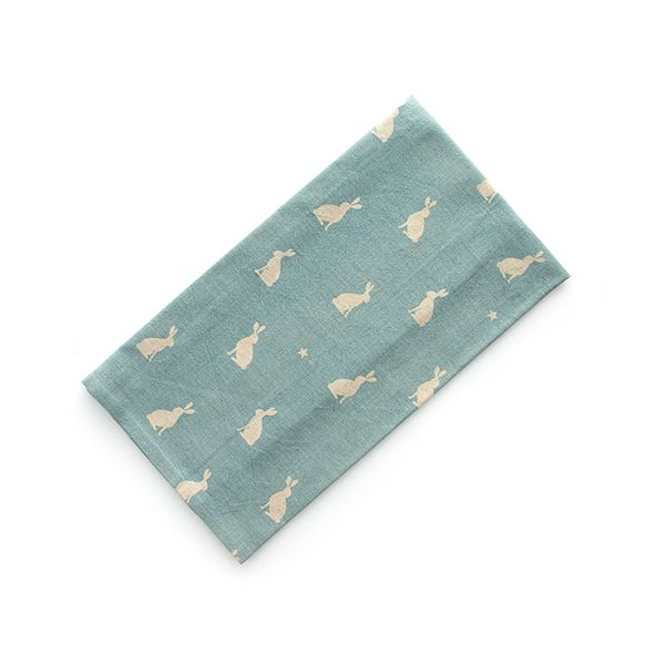 Dexam Vintage Stargazing Hares Tea Towel Blue