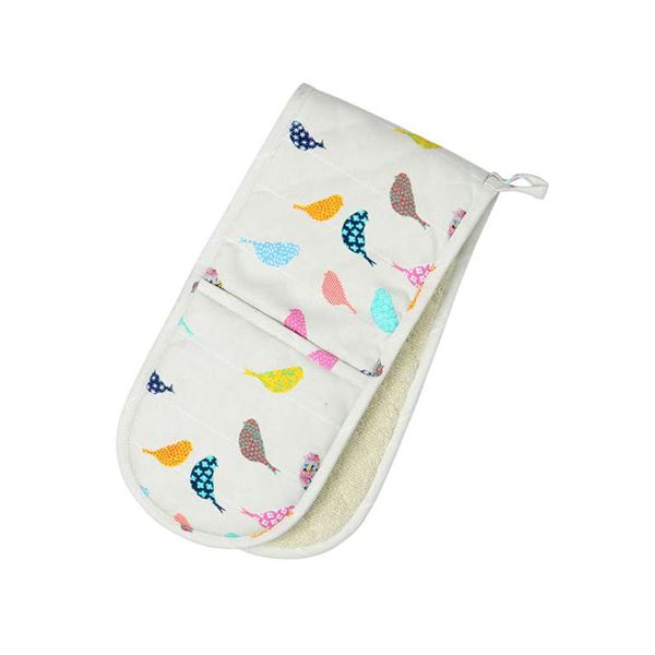 Dexam Vintage Little Birds Double Oven Glove
