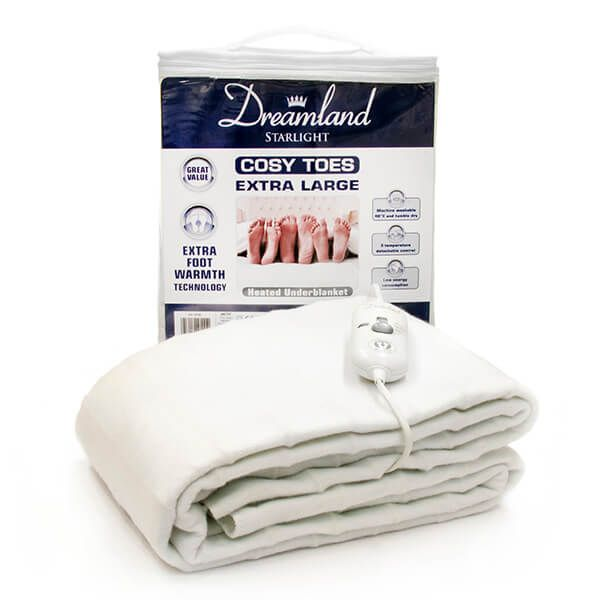Dreamland Cosy Toes Extra Large Double Heated Underblanket