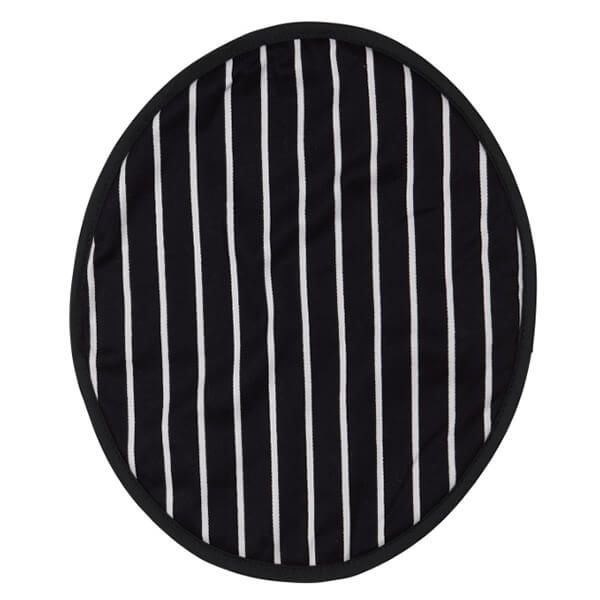 Dexam Rushbrookes Butchers Stripe Round Hob Cover Navy