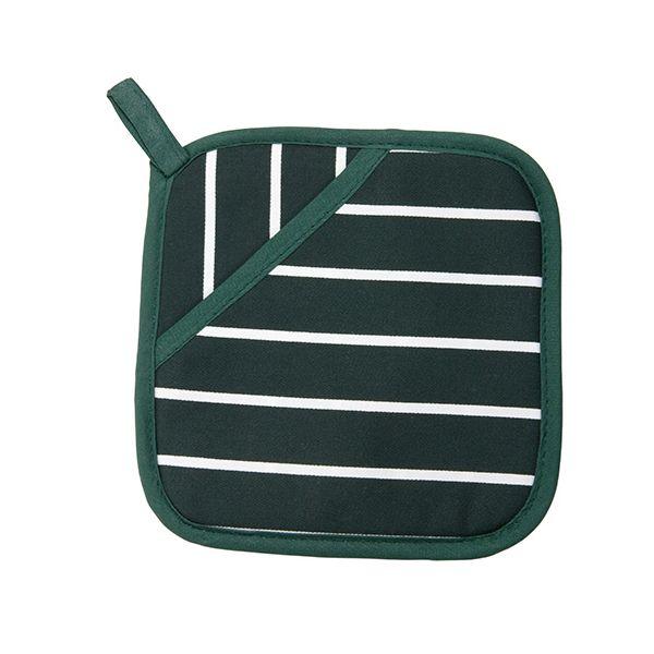 Dexam Rushbrookes Classic Butchers Stripe Pot Grab Green