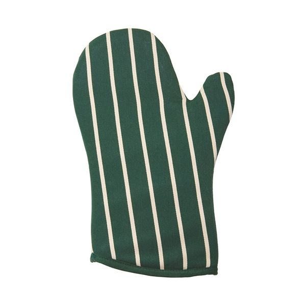Dexam Rushbrookes Classic Butchers Stripe Gauntlet Green
