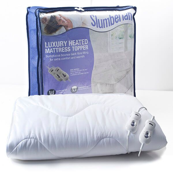 Dreamland Slumberland Luxury Heated Mattress Topper Dual Control