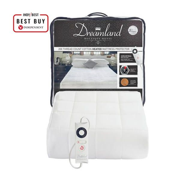 Dreamland Boutique Heated Mattress Protector Single
